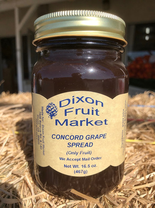 Concord Grape Spread