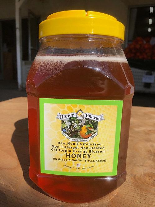 Honey Heaven Raw- non-pasteurized 6 lb