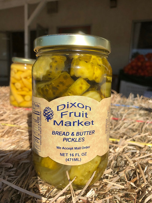 Bread & Butter Pickles