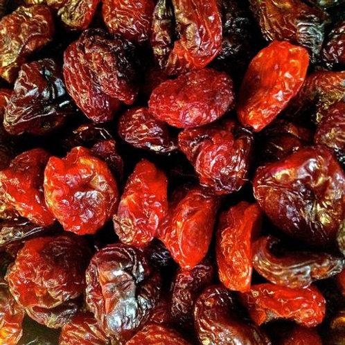 Sun dried local bing cherries