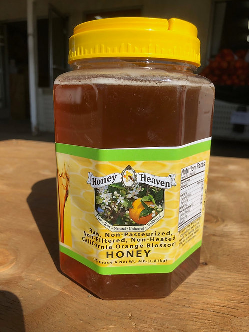 Honey Heaven Raw-Non- pasteurized 4 lb