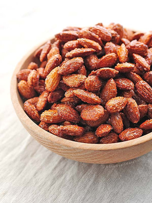 Cinnamon honey almonds