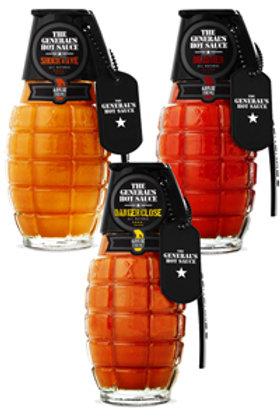 Grenade Hot Sauce Set
