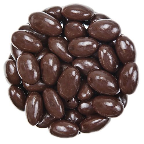 Sugar-free dark chocolate almonds