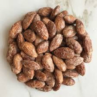 Maple almonds