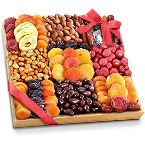 Chocolate, Nuts and Fruit Tray