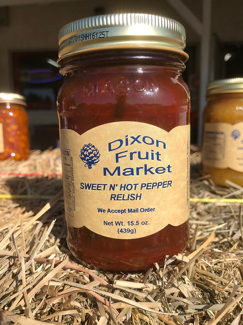 Sweet N' Hot Pepper Relish