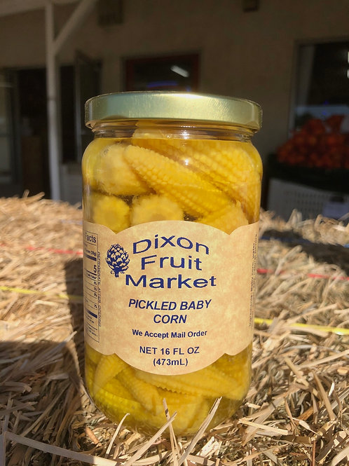 Pickled Baby Corn
