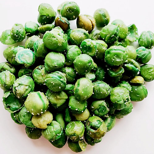 Roasted and salted peas