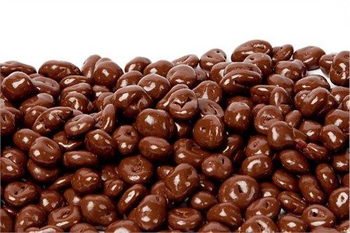 Sugar-free chocolate covered raisins