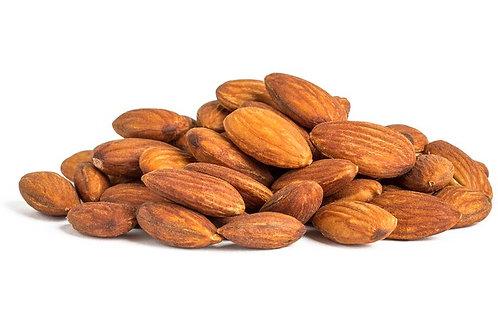 Roasted salt-free almonds