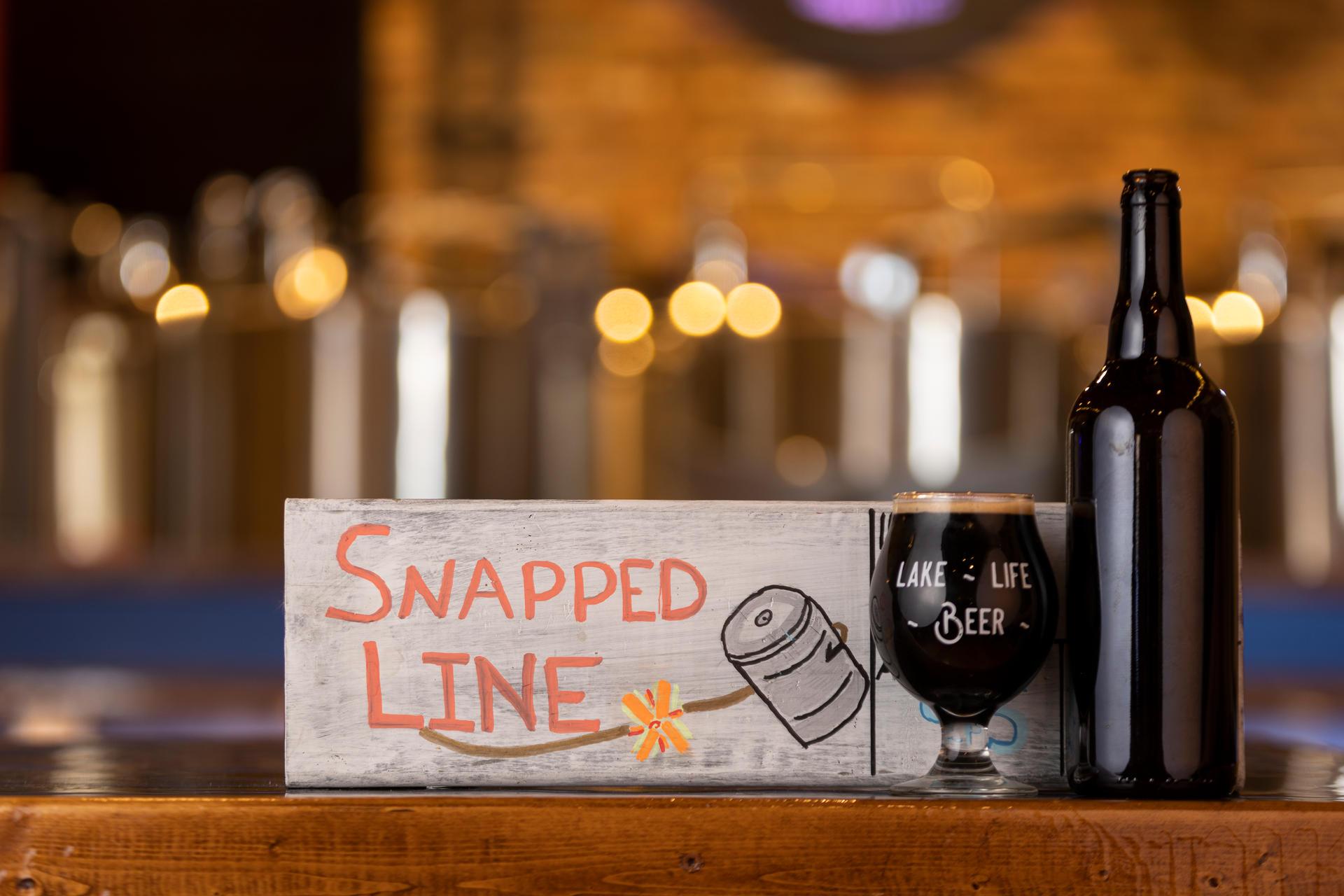 Snapped Line - English Dark Ale - Nitro
