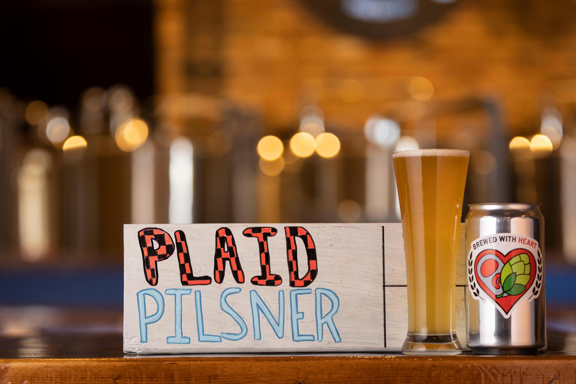 Plaid Pilsner