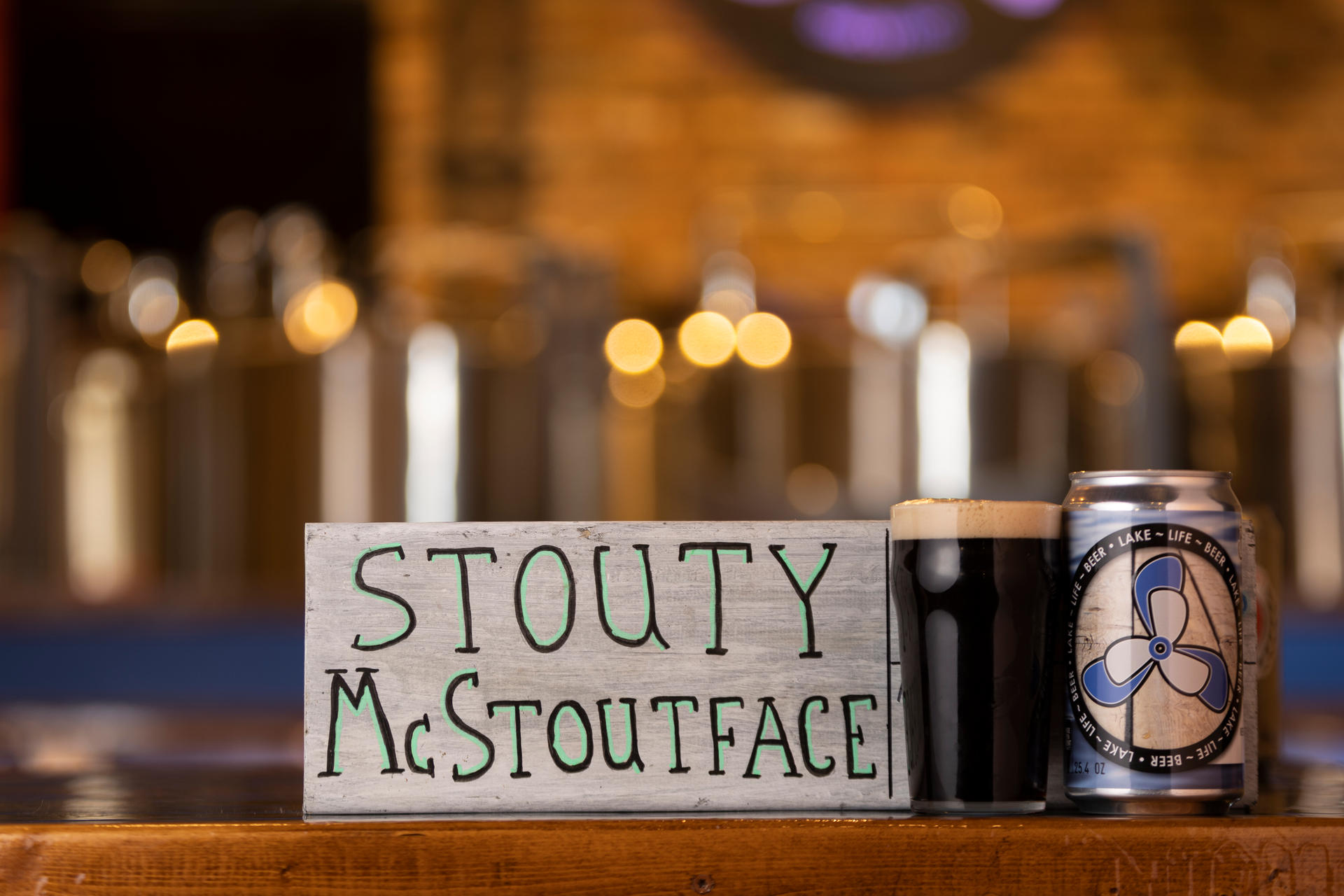 Stouty McStoutface - Dry Irish Stout - Nitro