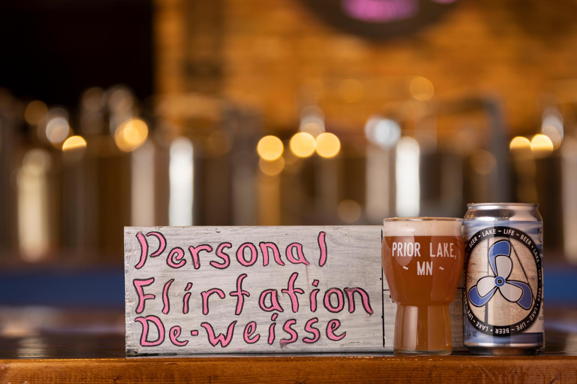 Personal Flirtation De-Weisse - Cherry Raz Kettle Sour