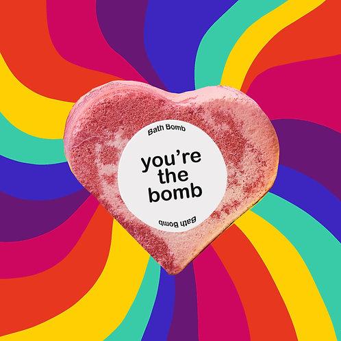 you're the bomb / Bath Bomb / Set Of 2