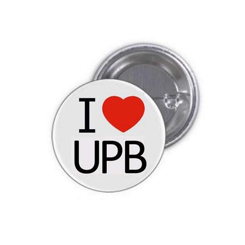 Insignă I LOVE UPB