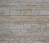 flush natual stone wall cladding with a natural sandstone look