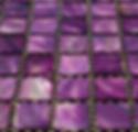 purple square grid of mosaic tiles