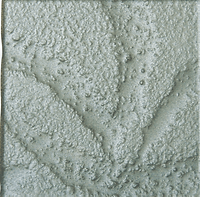 green steel single square tile with rough finish
