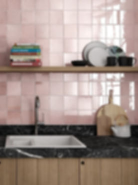 Minimalist kitchen backsplash tiles