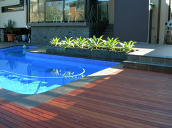 Georges hall pool and decking