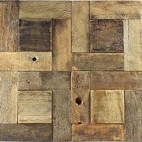timber rectangular grid of intersecting timbers