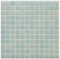 ice white glossy mosaic tiles in a 35 x 35 grid
