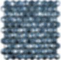 dark blue diamond sheet of raised and flat glass mosaic