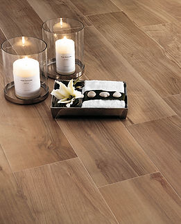 Timber look tiles for a floors