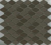 charcoal interlocking scale mosaic