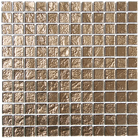 golden glass mosaic tiles in a 300x300 grid