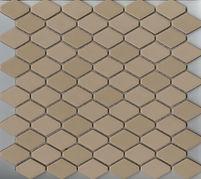 beige interlocking scale mosaic