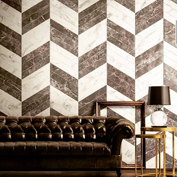 Marble look mosaic wall tiles, giving your living space  unique and classy style