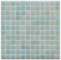 pale blue glossy mosaic tiles in a 35 x 35 grid