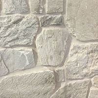Natural Stone cladding look with a washed out white colouring