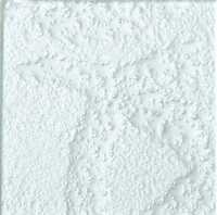 Silver single square tile with rough finish