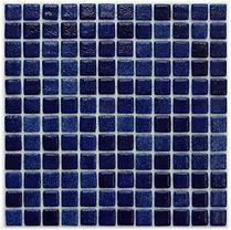 dark blue glossy mosaic tiles in a 35 x 35 grid