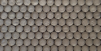 Silver pennyround glass sheeting