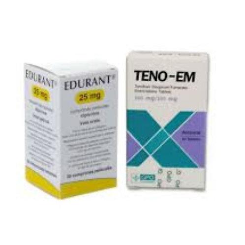HIV Post-Exposure Prophylaxis - PEP (Teno Em + Ricovir)