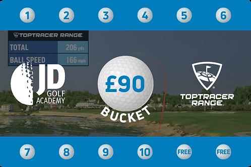 £90 Toptracer Range Card