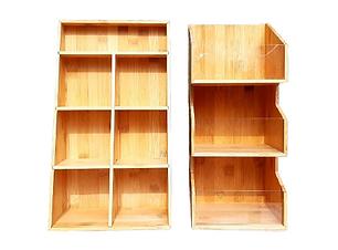 Bamboo Shelves