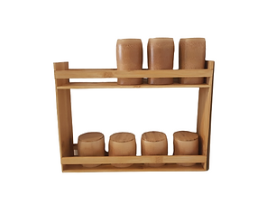 Bamboo Spice rack