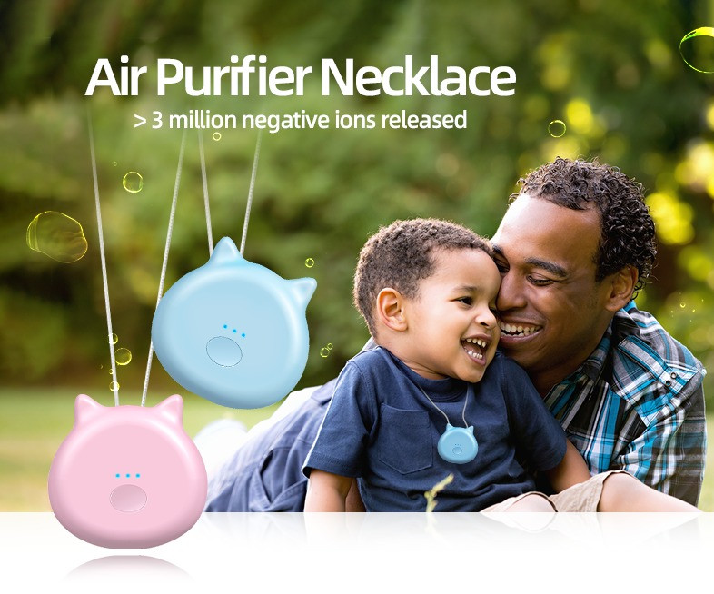 Air Purifier Necklace