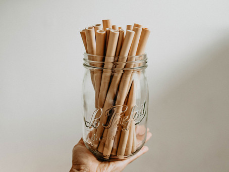 Bamboo Drinking Straws from Vietnam