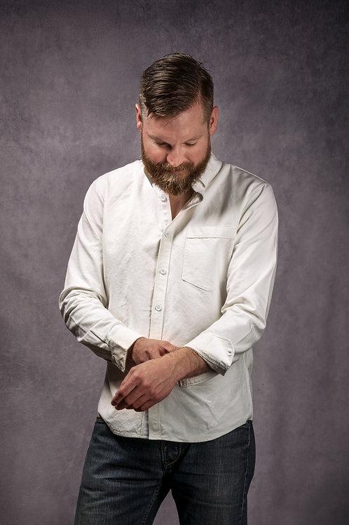 Long sleeve cotton/hemp shirt
