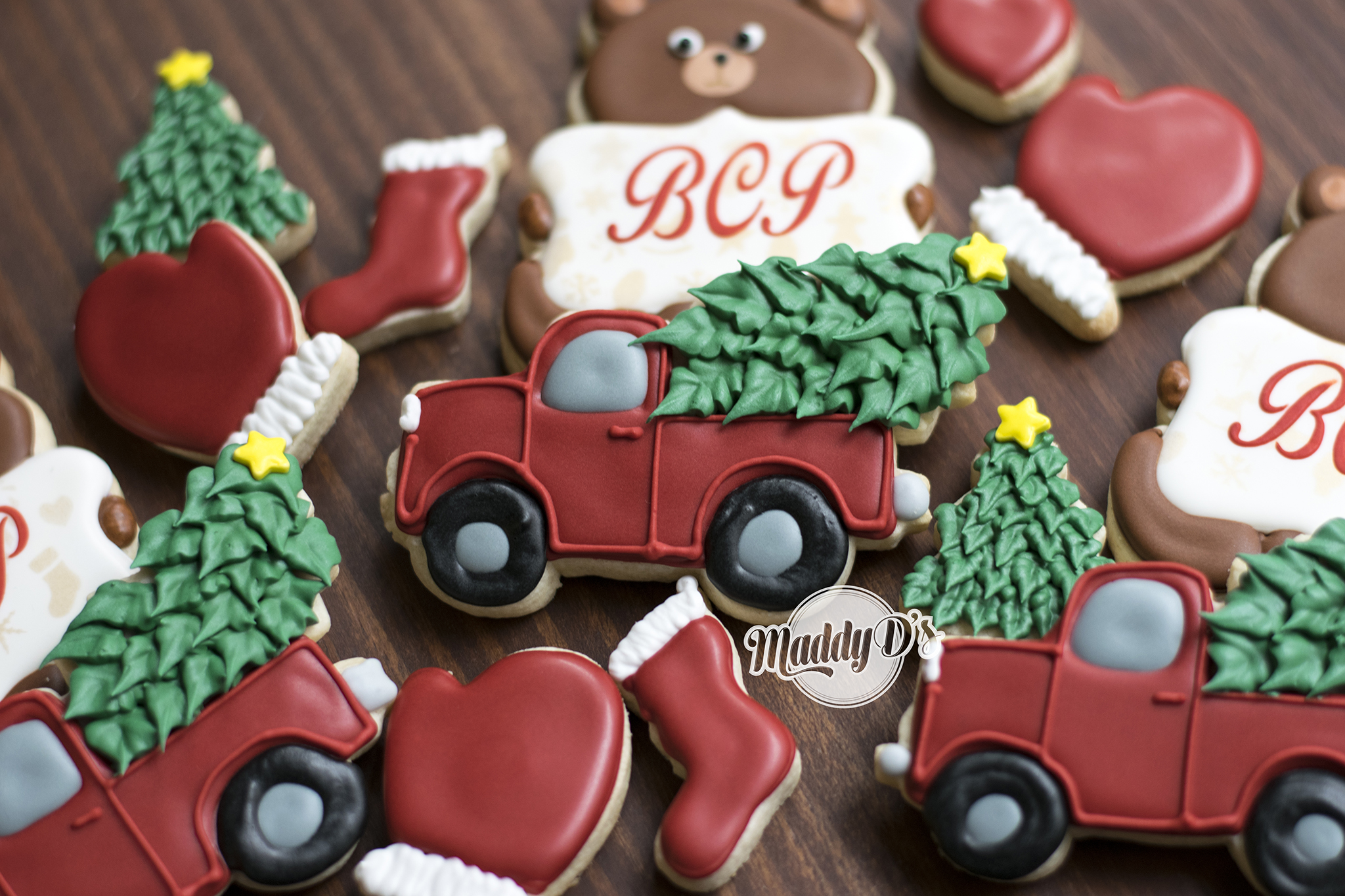 Christmas Truck Cookie