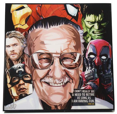 Stan Lee - Team Marvel