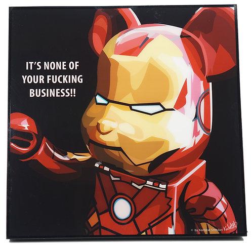 Bearbrick Ironman