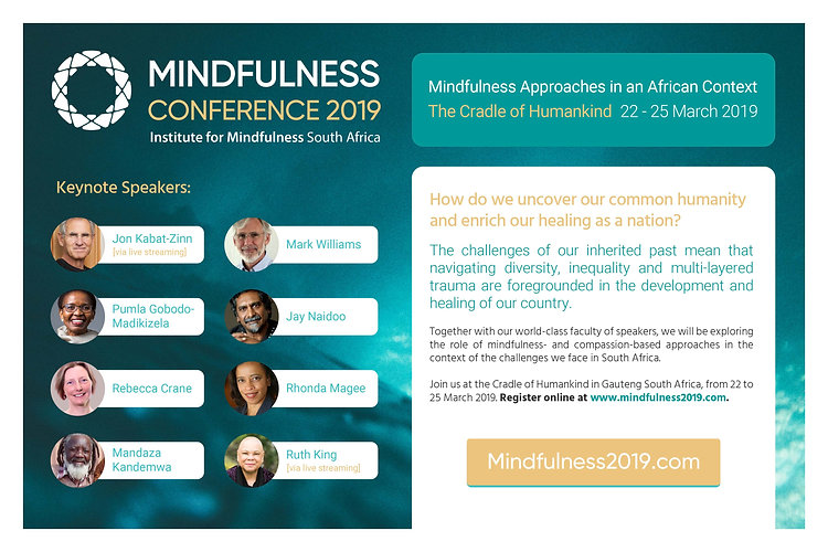 Mindfulness Conference 2019 - One-Pager